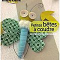 Vu! Petites btes  coudre de La Sardine (livre)