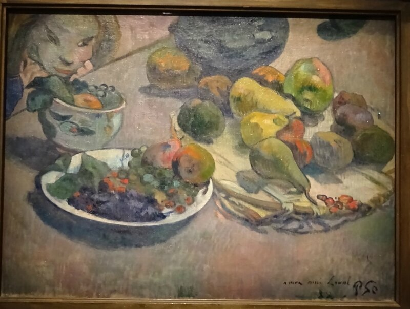 Gauguin Nature morte aux fruits 1888