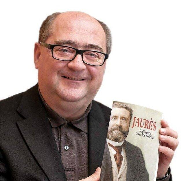 Philippe Tarillon avec Jaurès