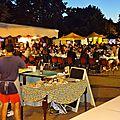 4ème Marché GOURMAND Nocturne en Musique CAUDROT 2 juillet 2016