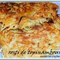 ROSTI AUX TOPINAMBOURS 