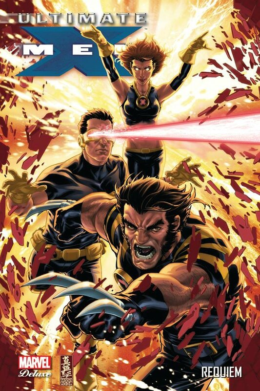 marvel deluxe ultimate x-men 10 requiem
