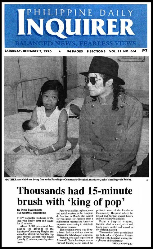 Michael Jackson Article- Inquirer- Dec7-96-2-sfp1