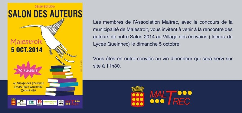 Invitation pour salon 2014