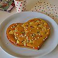 Gâteau aux pommes et sucre perlé pour un mercredi youpi!