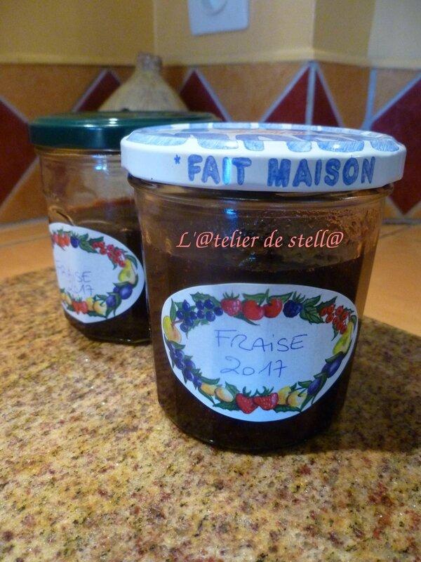 confiture de fraises 3 temps blog