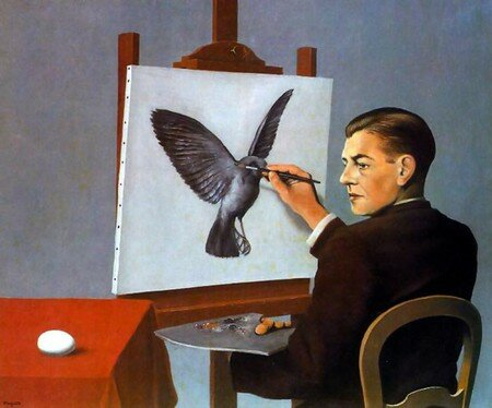 Magritte___Clairvoyance
