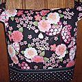 Nouveau sac tissu japonais!
