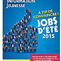Jobs d'été 2015: info pratique