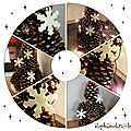 TUTO DECO NATURE pour NOEL - Faire un sapin avec des pommes de pin