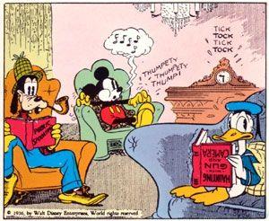 Mickey Mouse de Floyd Gottfredson chez Gloewen et Scrat 1