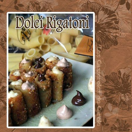Dolci rigatoni (SCRAP 2)