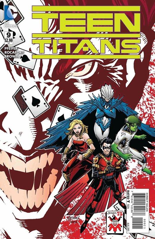 teen titans 9 joker variant