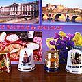 Toulouse, St Tropez, Tunisie et Avignon de Sylvette Violette