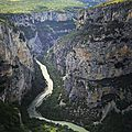 Gorges du Verdon, route des crêtes, D71 (83)