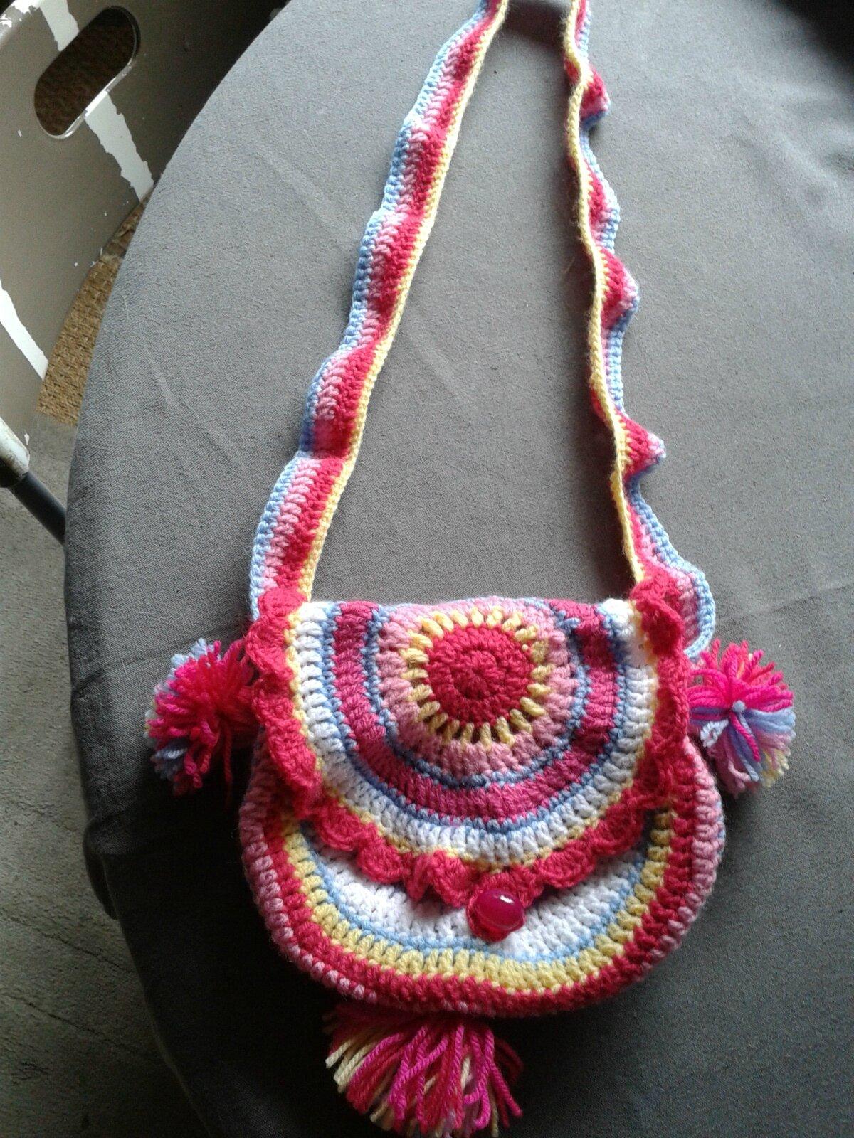 Connu petit sac pour petite fille - Granny mania ! PA99