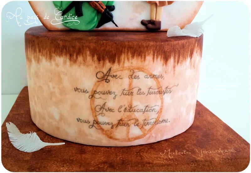 Gâteau Cake against violence 3