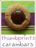 thumbprints - biscuits carambars - index