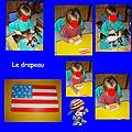 Le drapeau d 'amber