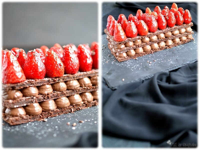 Choco mille-feuille