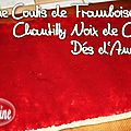 ~~ Bche : Coulis de Framboises, Chantilly  la Noix de Coco, Ds d'Ananas ! ~~