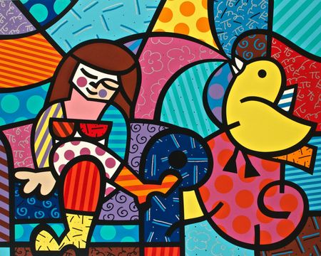 Romero-Britto-Only-You-Can-Hear-serigraph