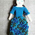 Mme Bouclettes bleues 5