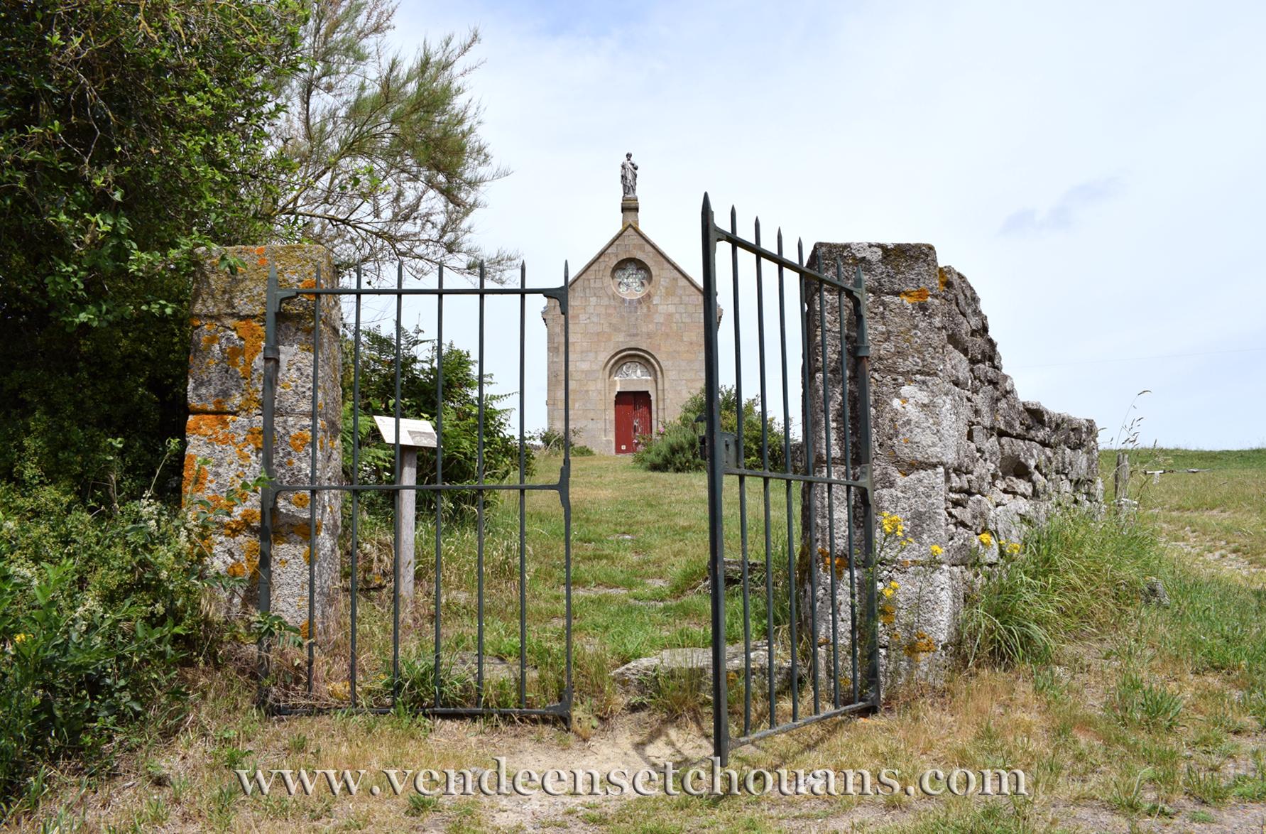 Une chapelle de Torfou déplacée au Longeron