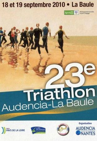 Triathlon CPM La Baule 2010