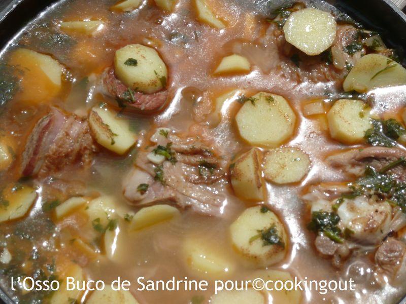 Osso buco de dinde a la marocaine un an pour faire son - Cuisiner osso bucco de dinde ...