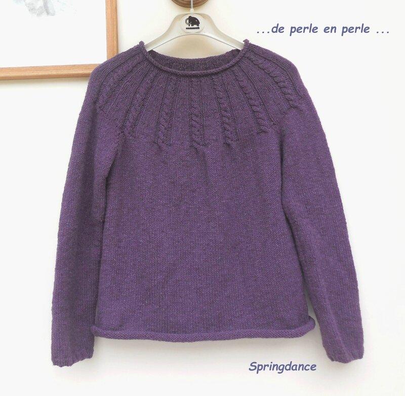 Pull violet 1