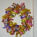 Couronne bonbons Brigitte