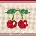 Échange ATC (Fruits) Chez Miou Miou pour Marie de Clessé 1