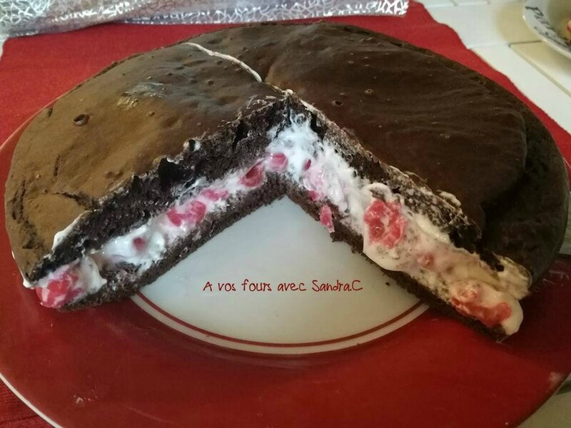 Gâteau Moelleux choco-cerises 3