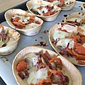 Panadillas carotte champignon bacon