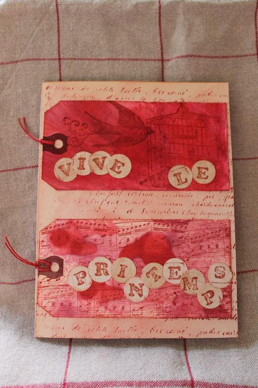 carte printemps 2012