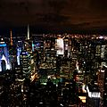 New York - Empire State Building by night