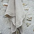 le tuto du shawl en mousse et vagues.....