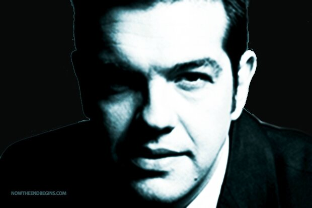 Illuminati Alexis Tsipras: key player in the Antichrist's agenda