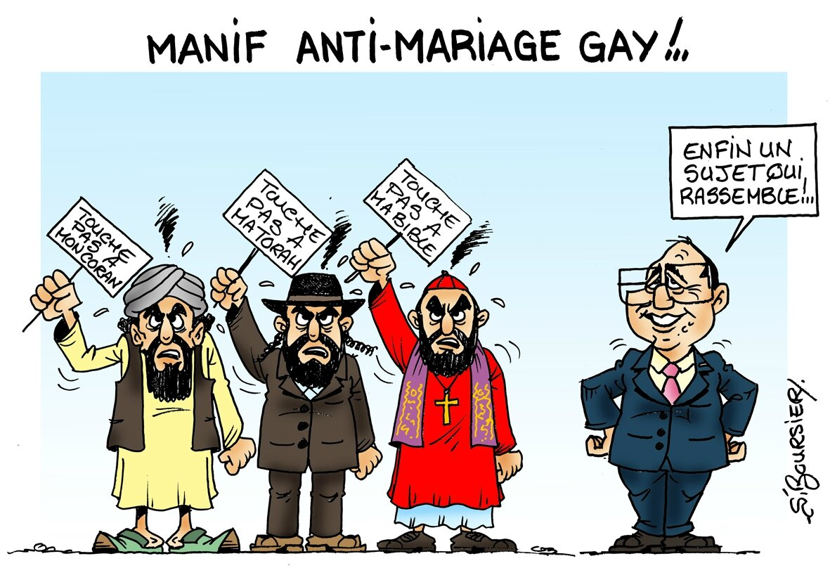 from Vincent why against gay mariage