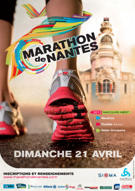 marathon de nantes 2013 pr sentation courir pour la. Black Bedroom Furniture Sets. Home Design Ideas