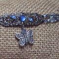 bracelet pour christelle en filigrane