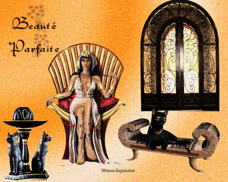 FEMME EGYPTIENNE creation minouchapassion