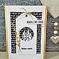 Inspiration sketch chez 4enscrap et challenge 164 chez carte maniak