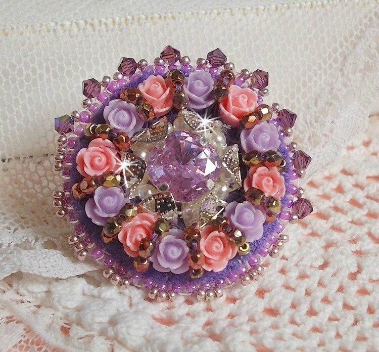 Bague Glace Purple