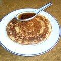 Pancakes sans oeuf sans gluten sans plv