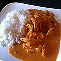 Poulet sauce chorizo