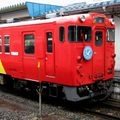 キハ48-500+1500「うみねこ -Umineko」, Aomori eki.