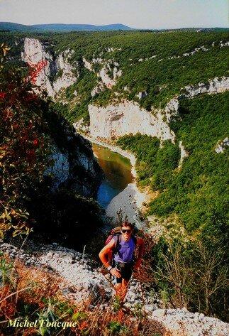 1259) Balade pédestre aux Gorges de l'Ardèche