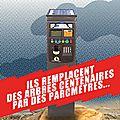Tract contre les abattages d'arbres à Valenciennes